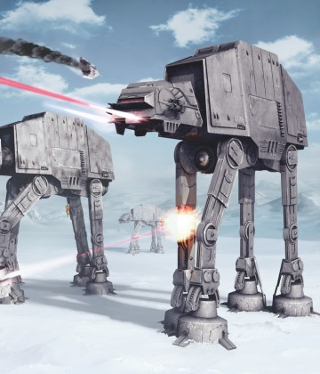 Star Wars Battle of Hoth